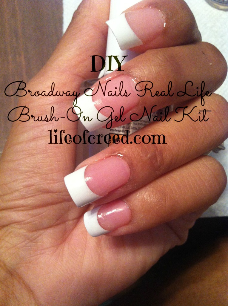 DIY Broadway Nails Real Life Brush-On Gel Nail Kit