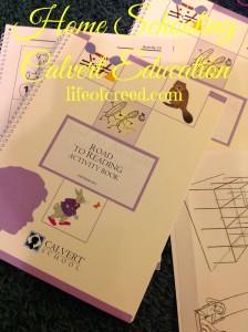 Calvert Education home schooling