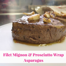 Filet Mignon & Prosciutto Wrap Asparagus Recipe