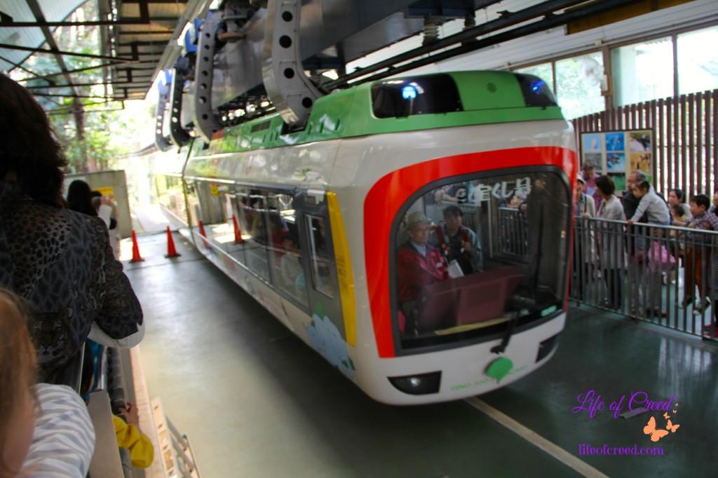 monorail, ueno zoo, tokyo, japan