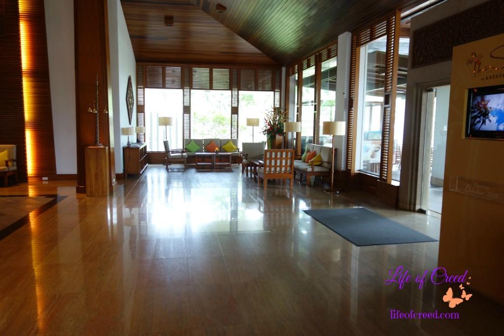 Katathani Hotel, Phuket, hotel lobby, thani wing
