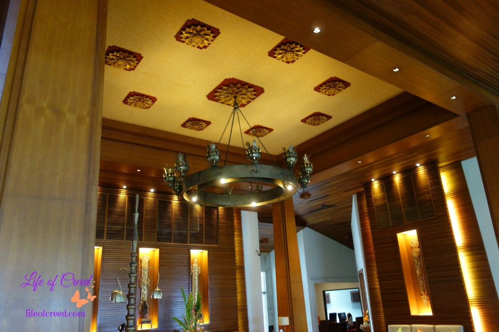 Katathani Hotel, hotel lobby, thailand, thani wing