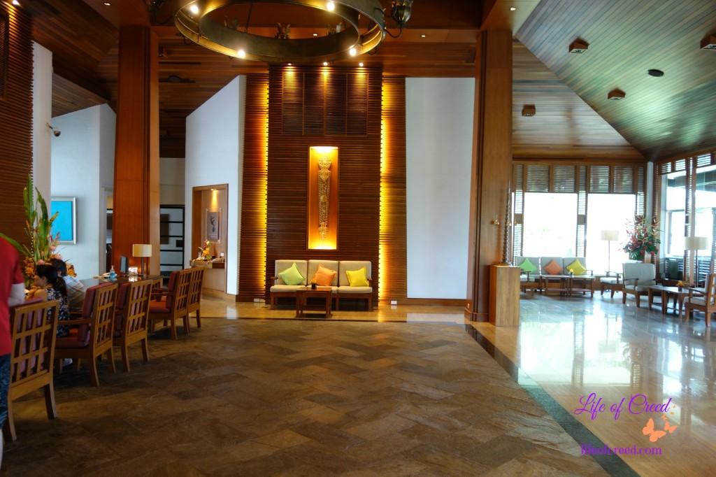 Katathani Hotel, Phuket, Thailand, hotel lobby, Thani lobby