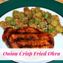 Onion Crisp Fried Okra