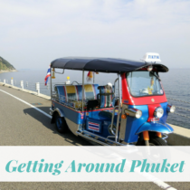 Getting Around Phuket