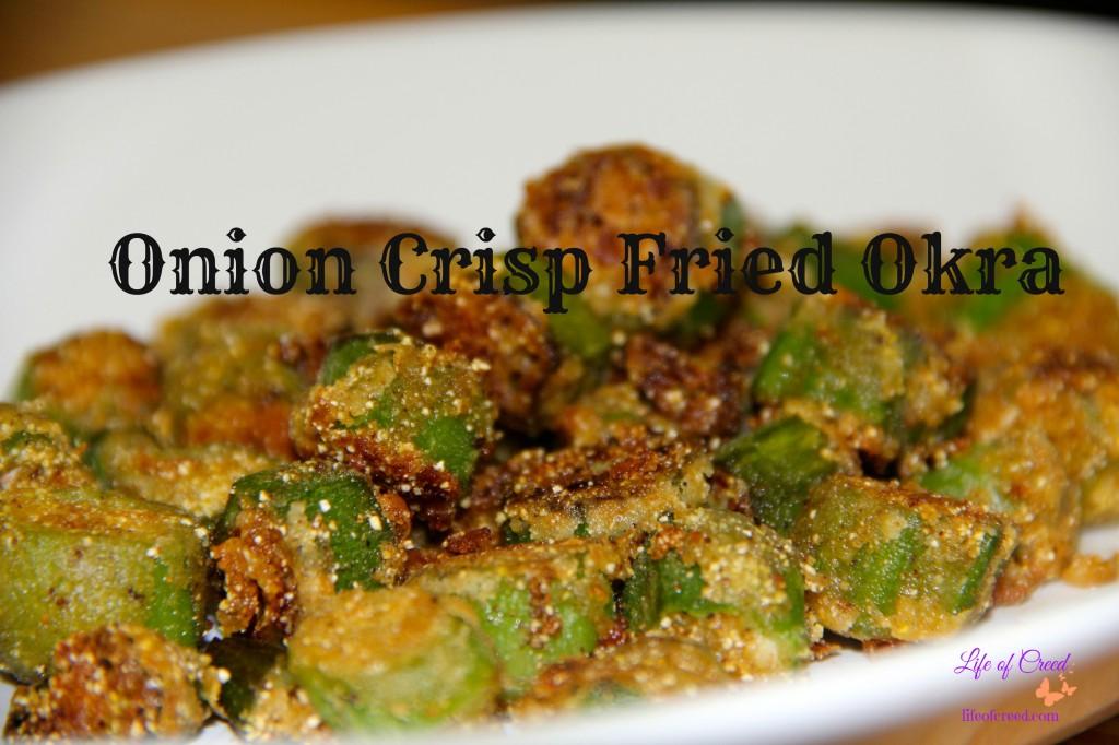 Onion Crisp Fried Okra 00