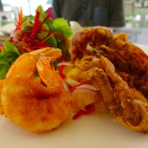 Thailand, Phuket, Katathani Hotel, Fried Soft Shell Crab Salad