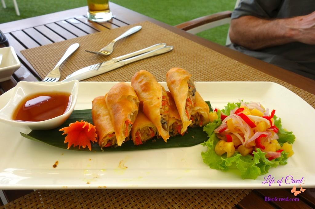 Thailand, Spring Rolls, Seacret, Phuket, Katathani Hotel