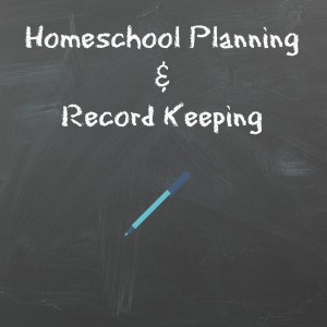 Homeschool Planning and Record Keeping 00