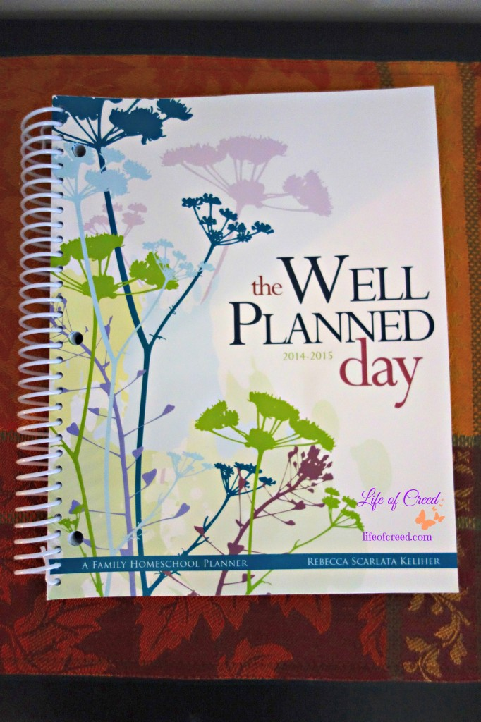 The Well planned day a family homeschool planner