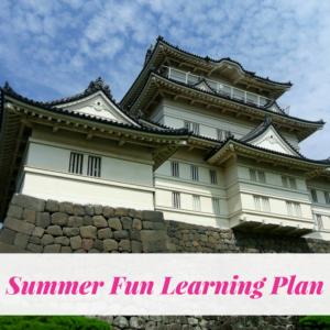 Summer fun learning plan, Japan