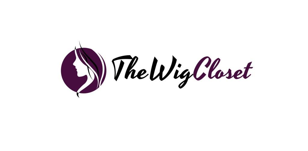 logo, the wig closet