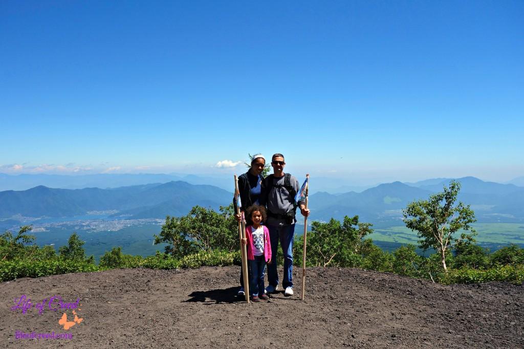 Mount fuji family hike, mt fuji