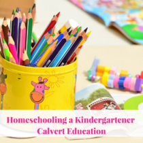 We used Calvert Education last year for preschool. It was an easy decision to use it again for kindergarten for our 2nd year of our homeschooling journey. It makes homeschooling a breeze!