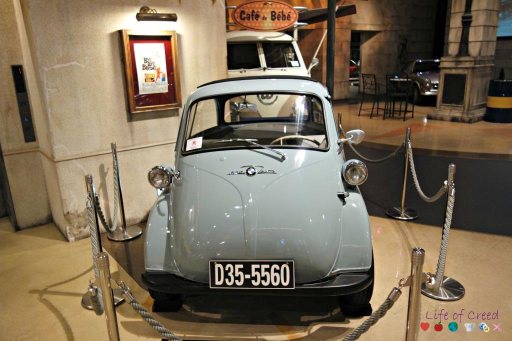 History Garage in Tokyo Japan. BMW Isetta.