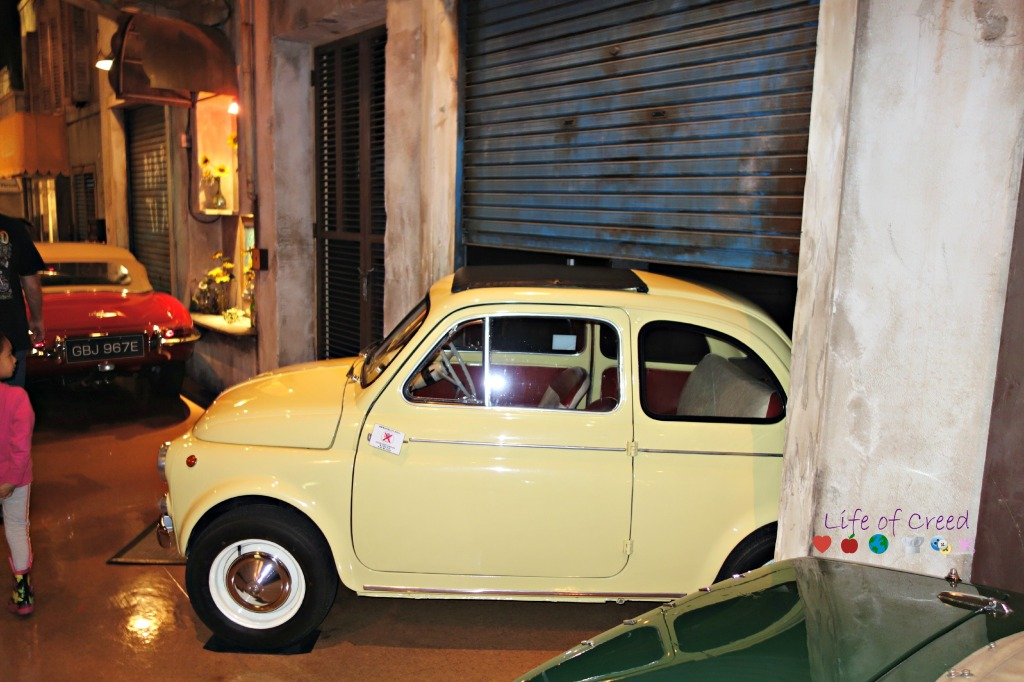 History Garage in Tokyo Japan. Fiat Nuova.