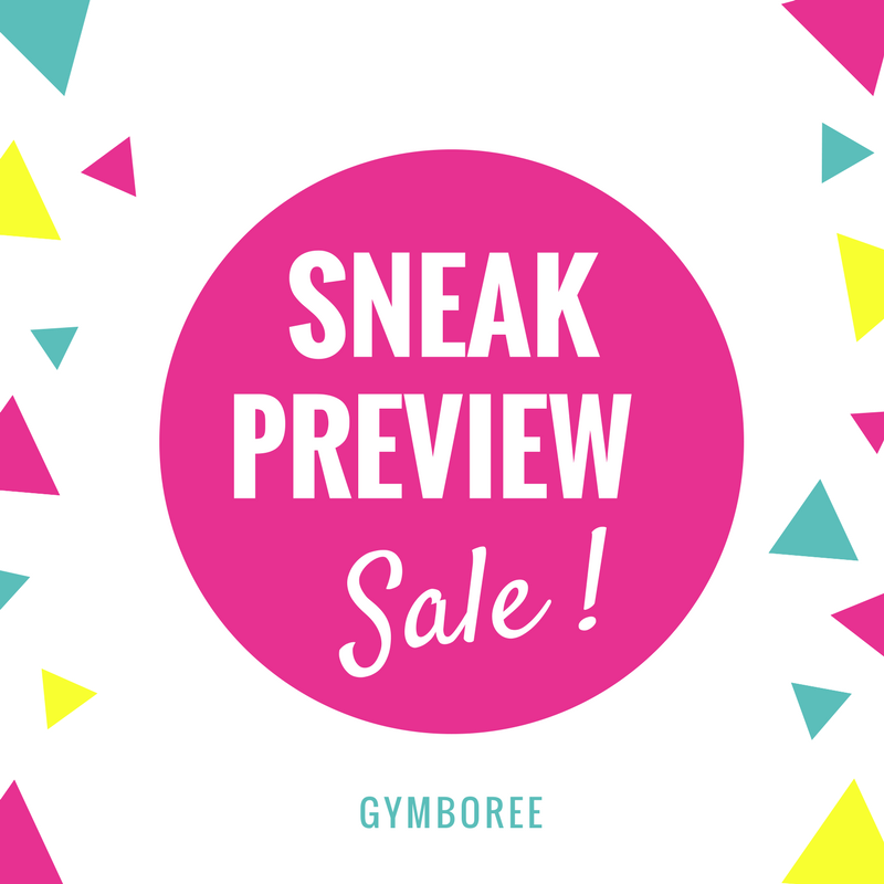 Gymboree Sneak Preview Sale