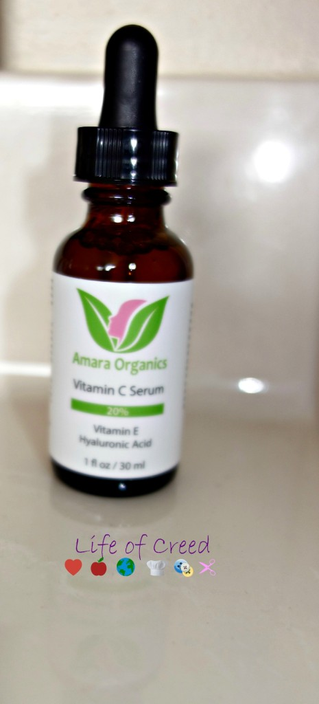 Amara Organics Vitamine C Review via @LifeofCreed