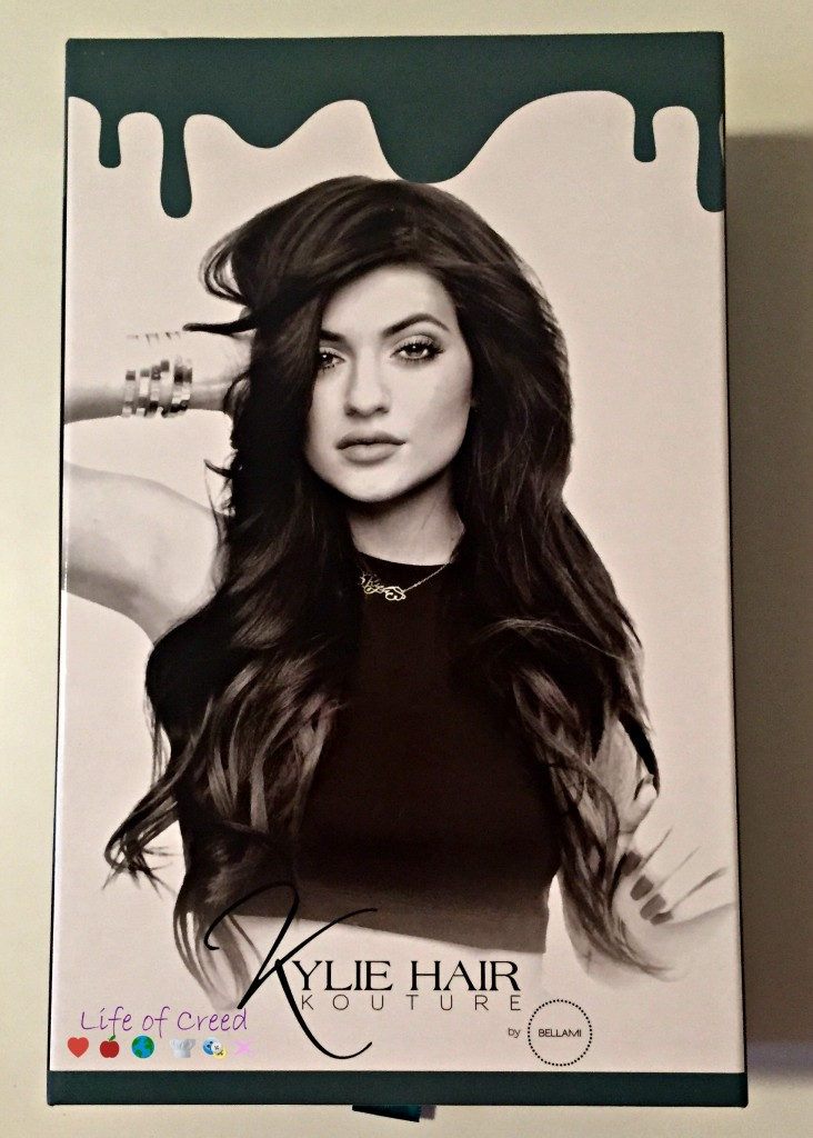 Kylie Hair Kouture - What's in the box via @LifeofCreed