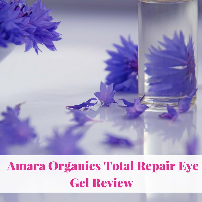 Amara Organics Total Repair Eye Gel Review