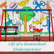 homeschool kindergartener