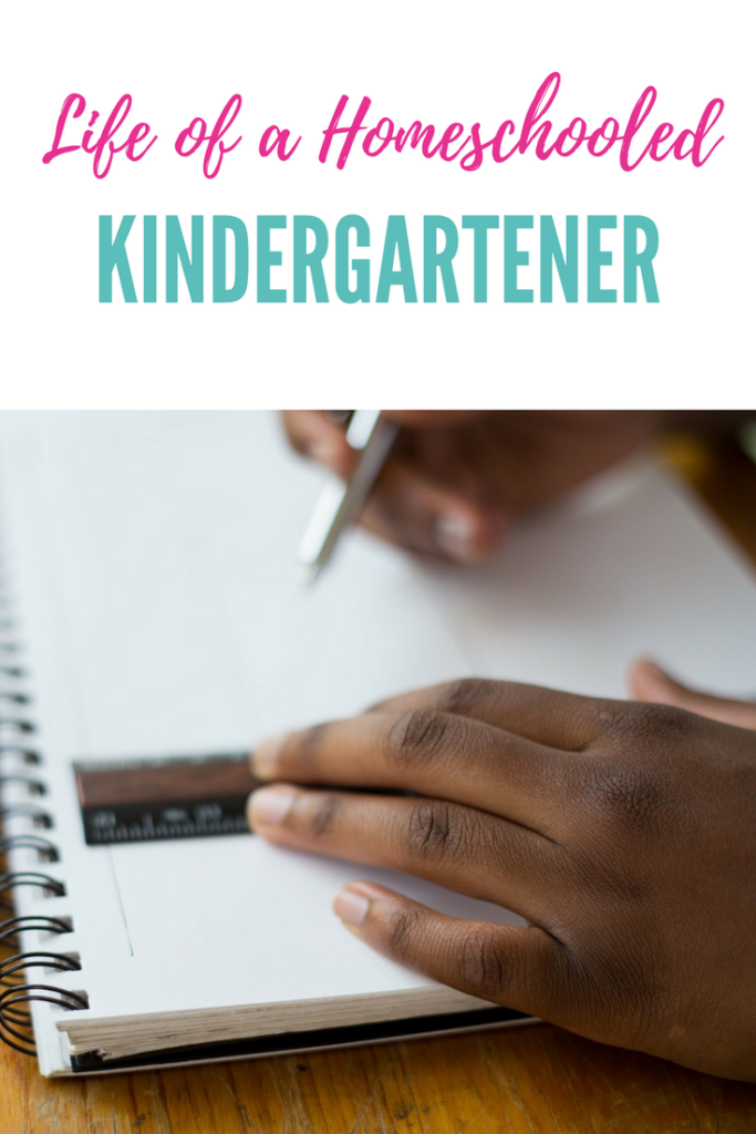 Here is a look into the life of a homeschool kindergartener.