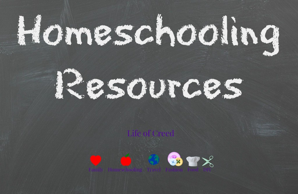 homeschooling resources via lifeofcreed.com @lifeofcreed