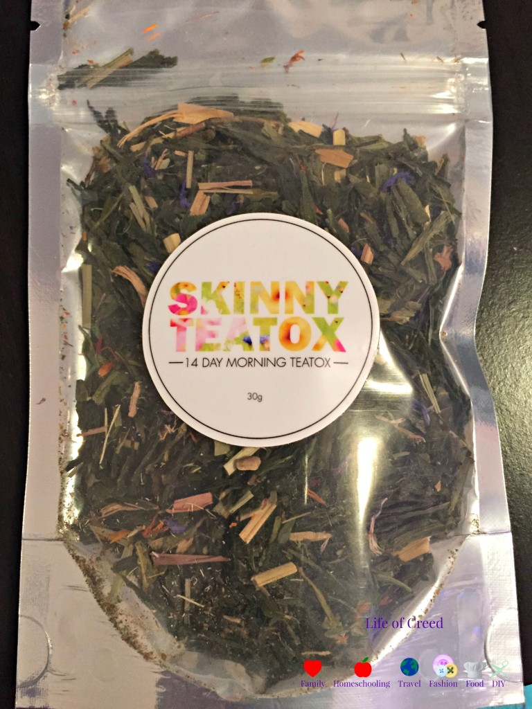 Skinny Teatox Review via lifeofcreed.com @lifeofcreed