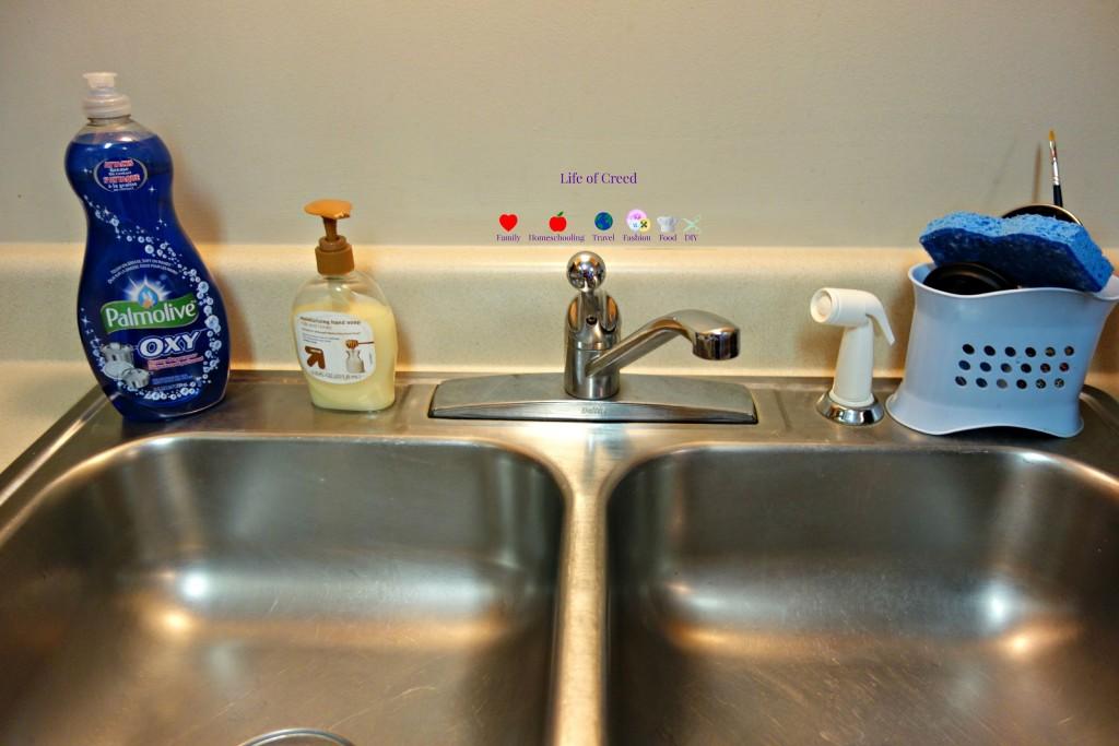 DIY Kitchen Faucet via lifeofcreed.com @Lifeofcreed