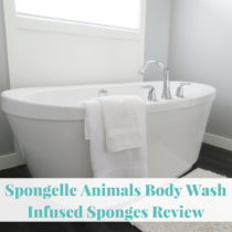 It was a nice change to receive the Spongelle animal boy wash infused sponge. It meant a new way to add some fun the little one's shower time. Spongelle Animals Body Wash Infused Sponges