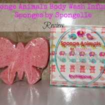 Sponge Animals Body Wash Infused Sponges by Spongelle review via lifeofcreed.com @lifeofcreed