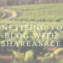 Monetizing your blog with shareable via lifeofcreed.com