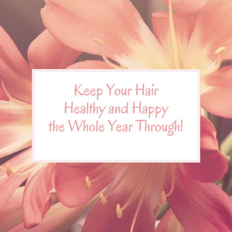 Keep Your Hair Healthy and Happy the Whole Year Through! via lifeofcreed.com