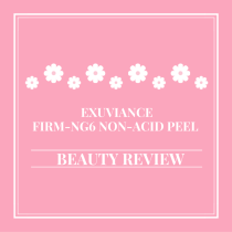 Exuviance Firm-NG6 Non-Acid Peel | Beauty Review via lifeofcreed.com @lifeofcreed