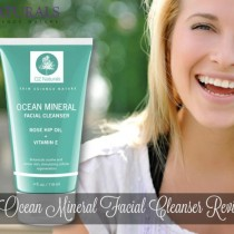 Ocean Mineral Facial Cleanser Review via lifeofcreed.com