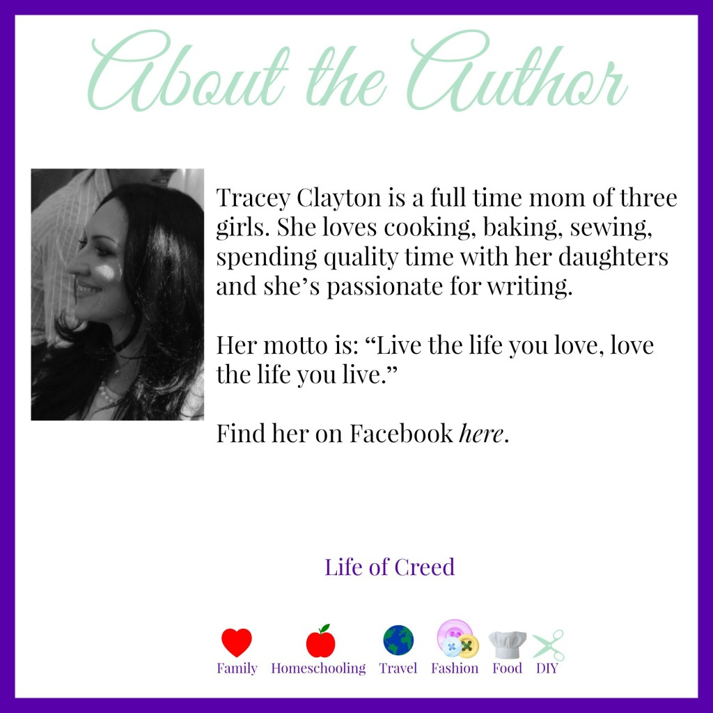 Tracy Clayton - About the Author - Life of Creed