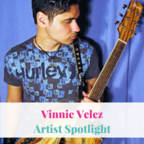 "Today's Artist Spotlight is on multi-instrumentalist songwriter Vinnie Velez, hailing from the Hudson Valley. He has been creating music for quite some time and released his debt full length album ""This is Forever"""