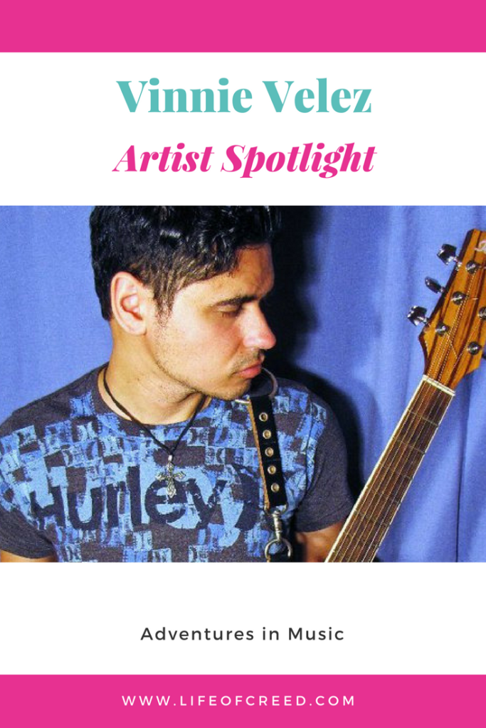 """Today's Artist Spotlight is on multi-instrumentalist songwriter Vinnie Velez, hailing from the Hudson Valley. He has been creating music for quite some time and released his debt full length album """"This is Forever"""""""