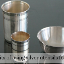 Benefits of using silver utensils for baby