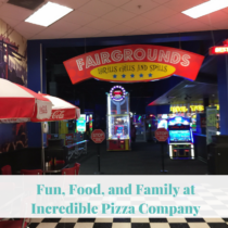 Fun, Food, and Family at Incredible Pizza Company