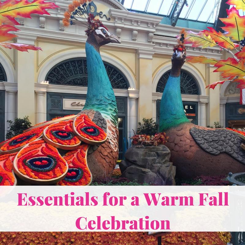 Essentials for a Warm Fall Celebration