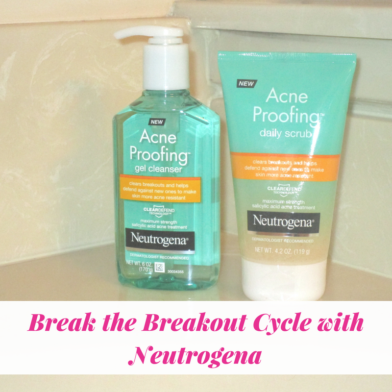 Break the Breakout Cycle with Neutrogena®