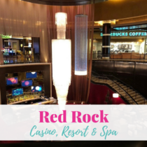 On my recent momcation to Las Vegas, I stayed at the Red Rock Casino Resort and Spa. The price point for this hotel is very wallet friendly.