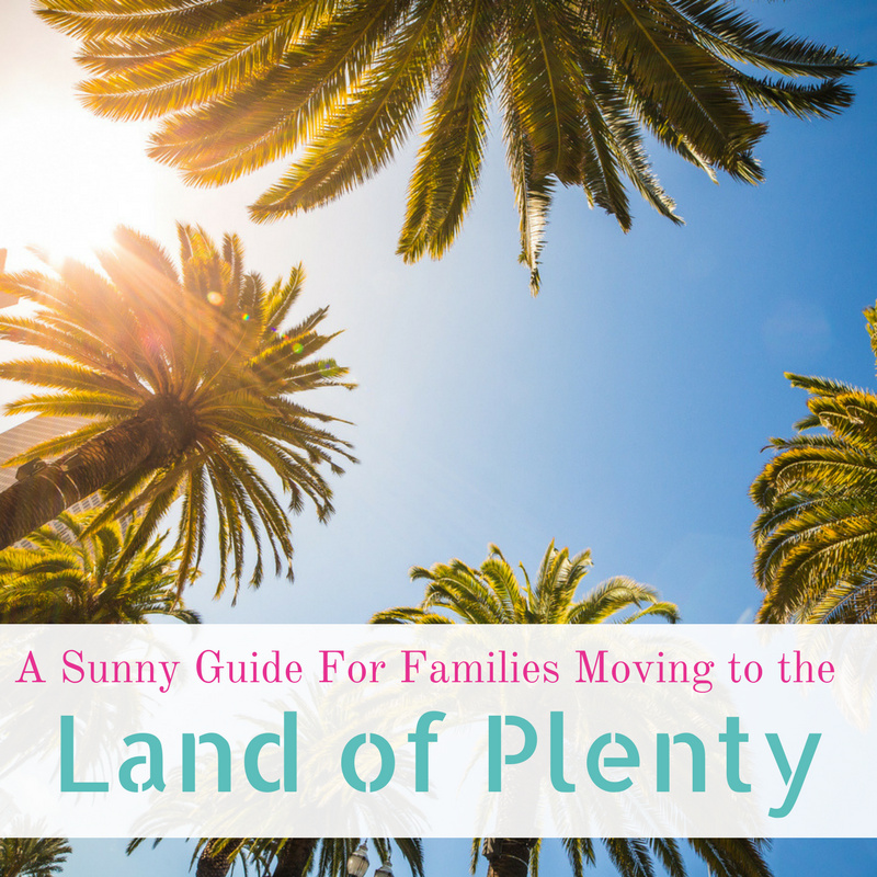 A Sunny Guide For Families Moving to the Land of Plenty